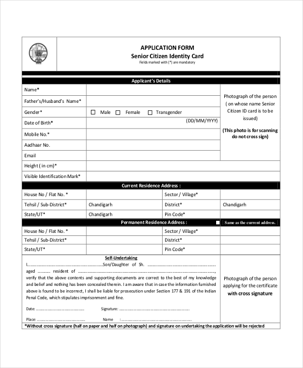 Sample Citizenship Application Form  Free Documents In Pdf