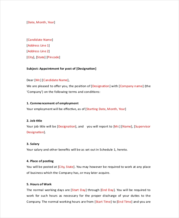 Sample Formal Letter   Free Documents In Pdf Doc