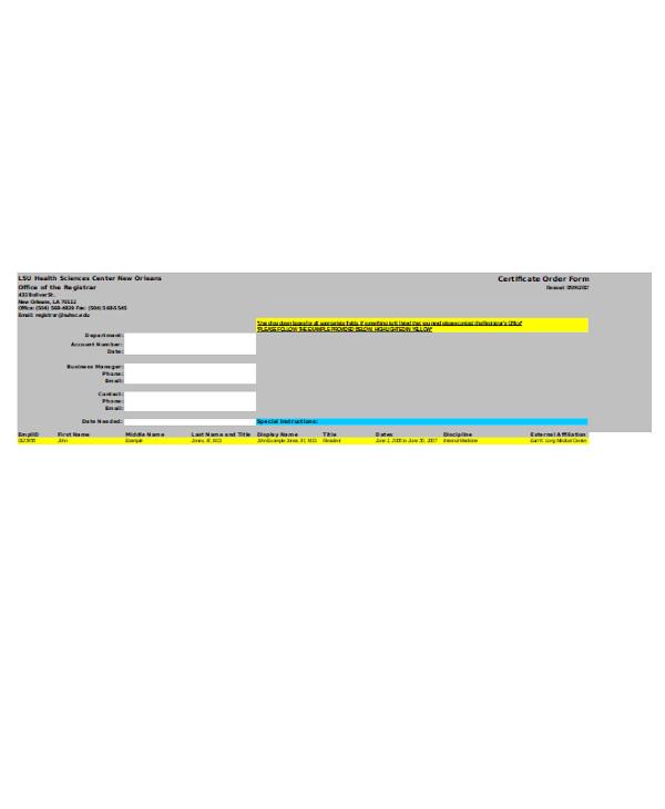 health certificate order form1