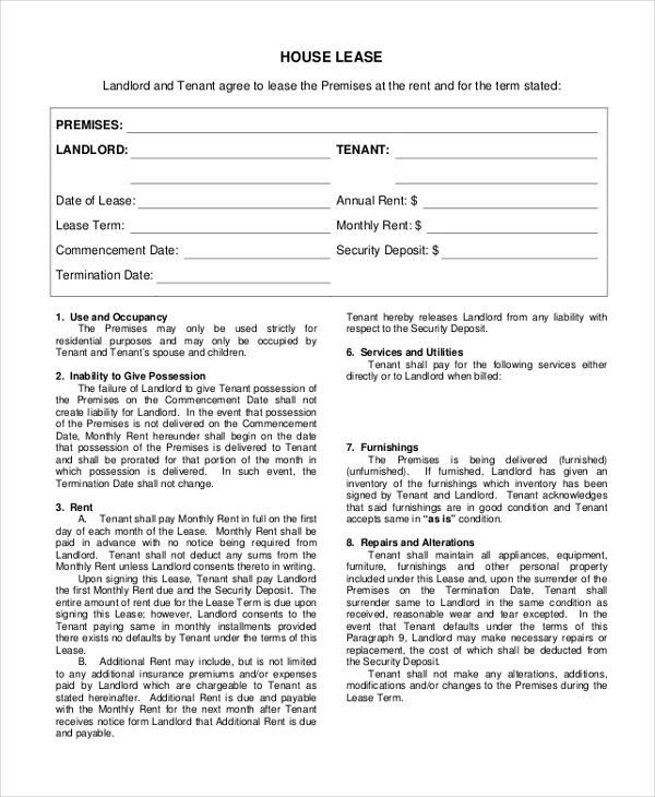 Sample Agreement Form 20 Free Documents In Word Pdf