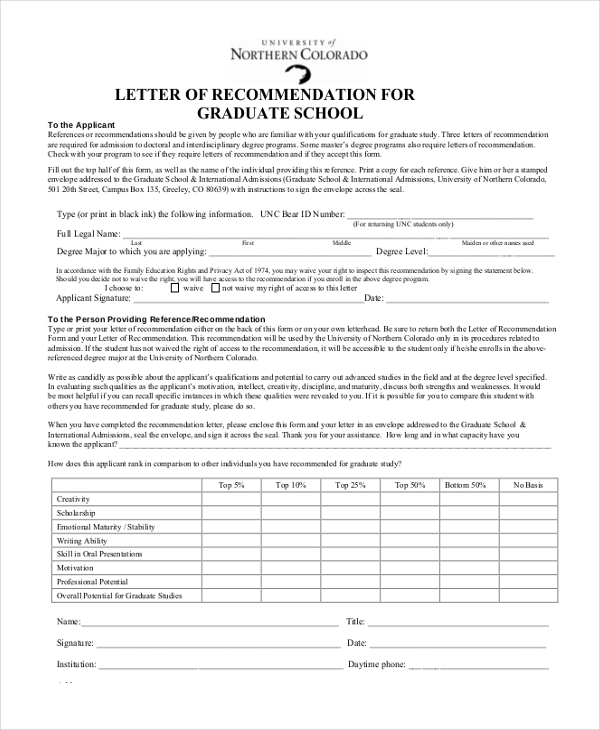 Sample Recommendation Letter - 10+ Free Documents in Word, PDF