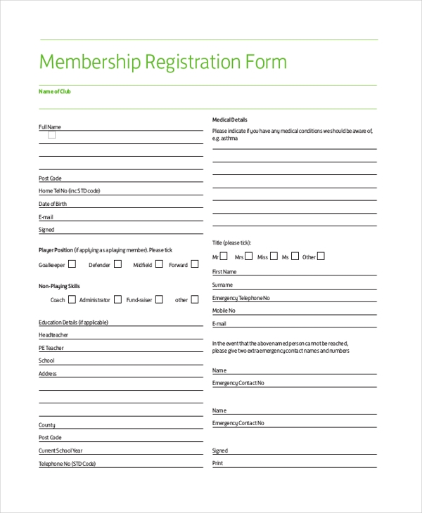 membershipregistrationform