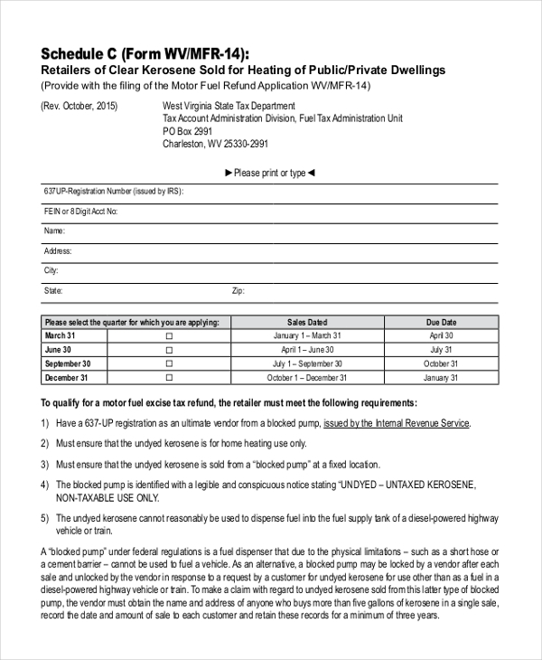 Sample Tax Form - 20+ Free Documents In Pdf