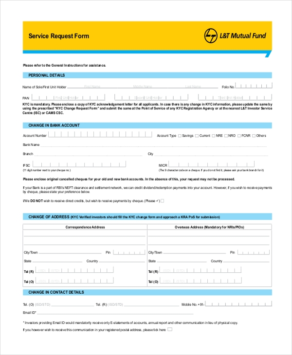 service request form1