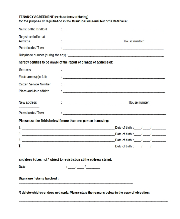 Sample Agreement Form - 20+ Free Documents In Word, Pdf