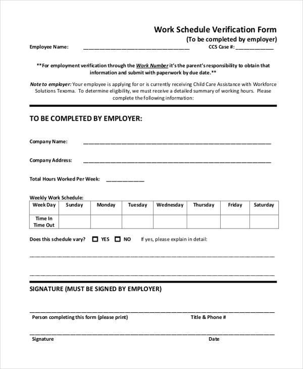 Verification Form Tenant Verification Form Dental Insurance