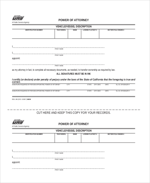 vehicle transfer and reassignment form