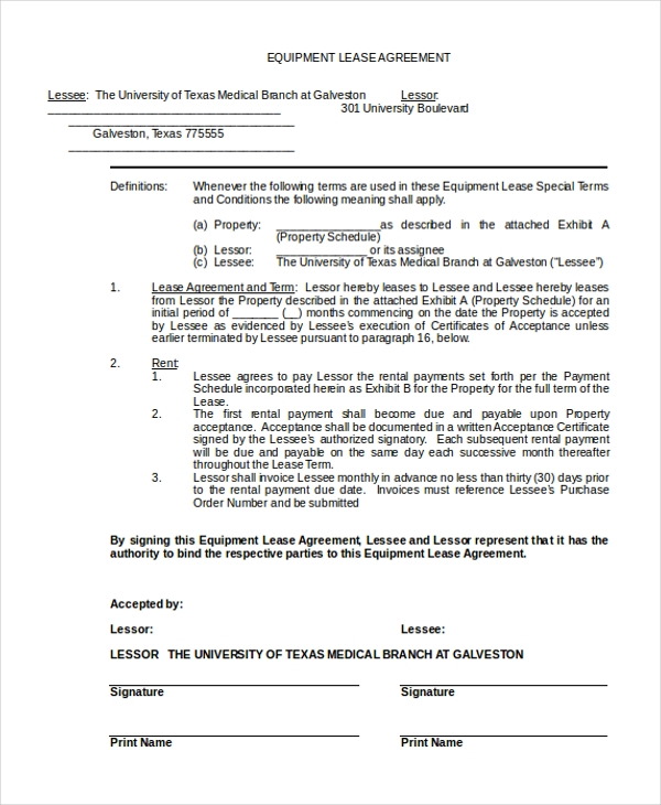 Sample Blank Lease Agreement Form - 10+ Free Documents In Doc, Pdf