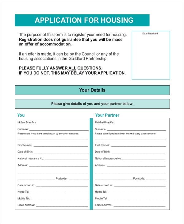 affordable housing application brampton on