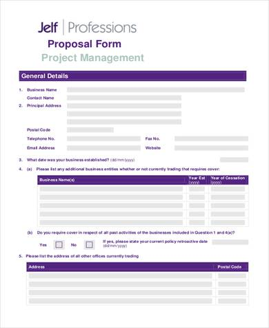 project proposal bcs