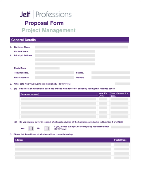 Management Proposal Social Media Management Proposal Template