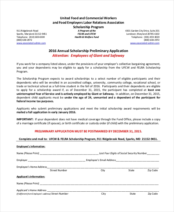 Safeway-Annual-Scholarship-Preliminary-Application Safeway Online Job Application Form on taco bell, olive garden, apply target, pizza hut, print out,