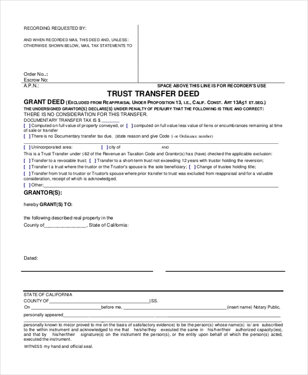 Sample Will And Trust Form - 15+ Free Documents In Pdf