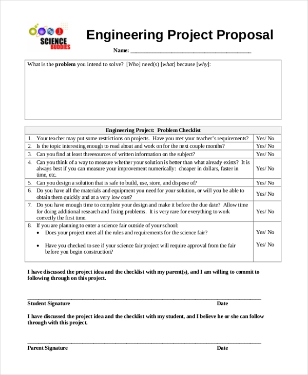 Sample Project Proposal Form   Free Documents In Doc Pdf
