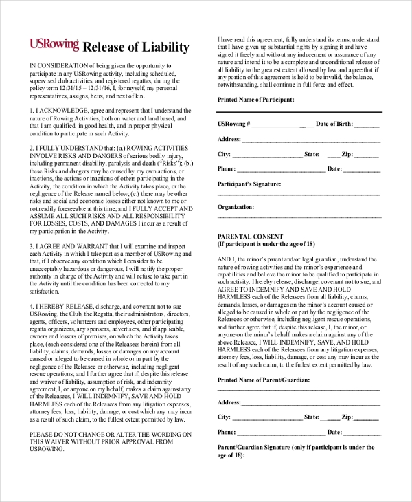 release of liability form2