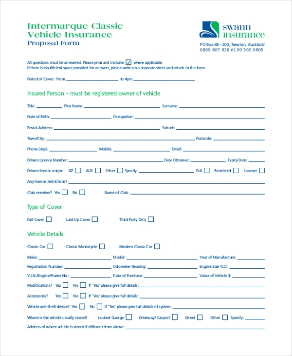 Sample Vehicle Appraisal Form 8 Free Documents in PDF Doc – Vehicle Appraisal Form