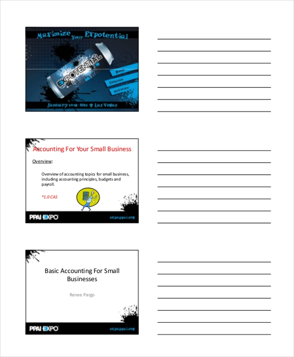 10+ Sample Basic Accounting Forms - Free Sample, Example, Format