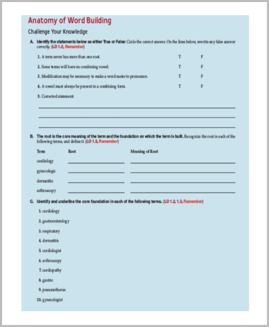 common medical combining form