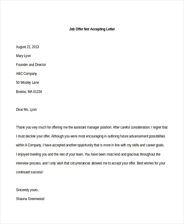 Sample Acceptance Of Resignation Letter Uk Resume Layout Letter