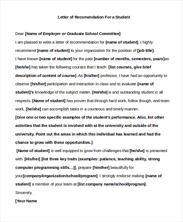 Letter Of Recommendation For Coworker Sample from images.sampleforms.com