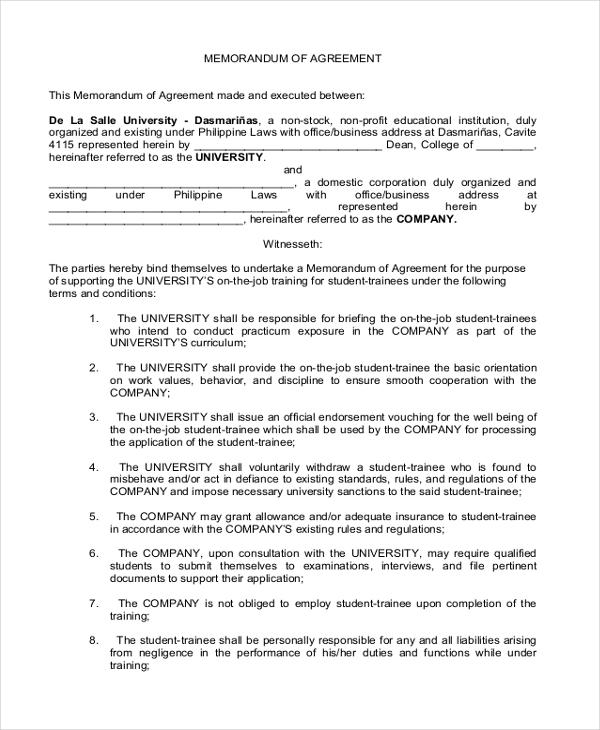 Sample Business Partnership Agreement Form - 8+ Free Documents In