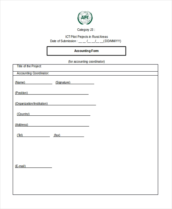 printable blank accounting form1