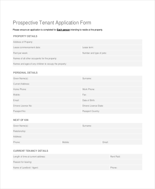 prospective tenant application form1