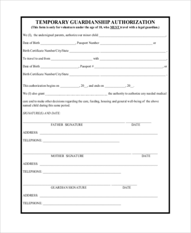 Crush image regarding free printable child guardianship forms