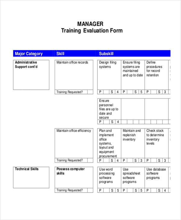 Sample Evaluation Plan Free Year It Strategic Plan Template It