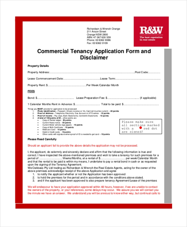 commercial tenancy agreement form1