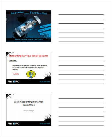 basic accounting form small business