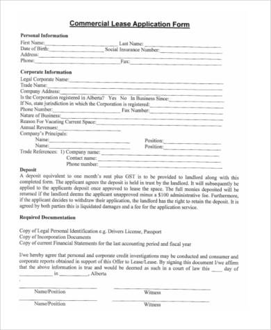 blank commercial lease application form1