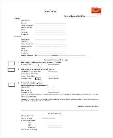 Sample Blank Order Forms - 8+ Free Documents In Pdf