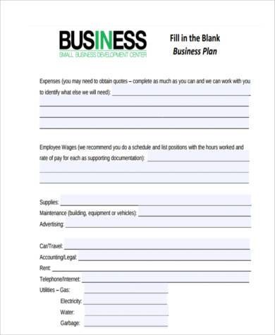 business accounting form in pdf