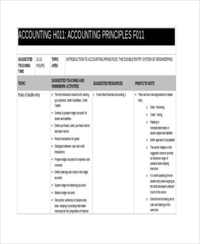 business accounting form in word format