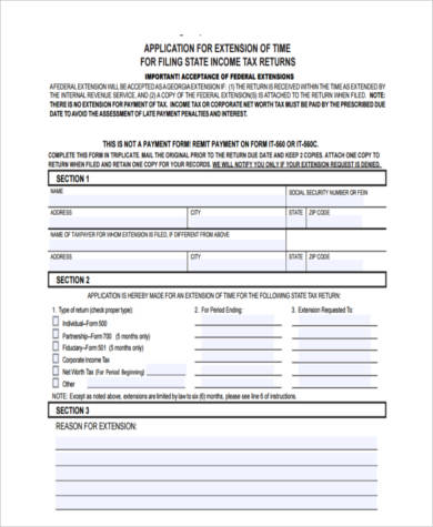 Sample Business Tax Forms - 9+ Free Documents in Word, PDF