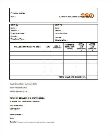 business invoice form in word format1