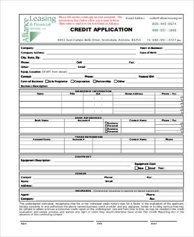 Ideas Ford Credit Application Pdf On KevinnegreteUs