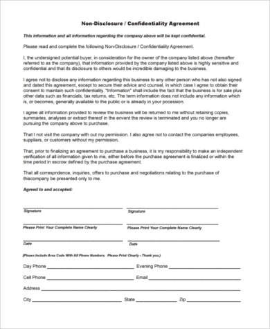 Sample Business Purchase Agreements - 8+ Free Documents In Word, Pdf