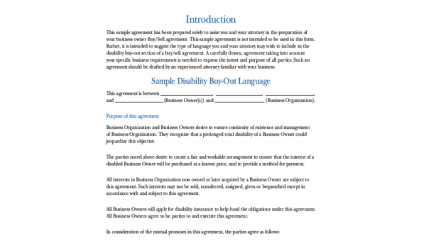Sample Business Contract Free Documents In Word PDF - Company contract sample