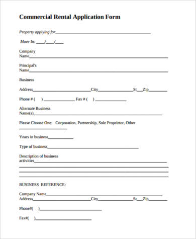 30+ Lease Application Forms In Pdf | Free & Premium Templates