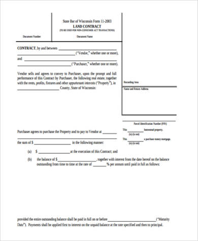 contract for deed form in pdf