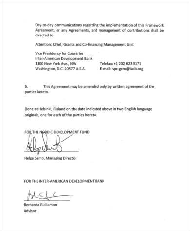 FREE 8+ Sample Cooperation Agreement Forms in PDF | MS Word
