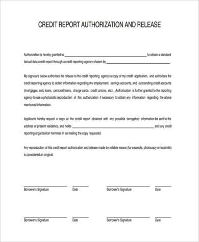 Sample Authorization Release Forms   Free Documents In Word Pdf