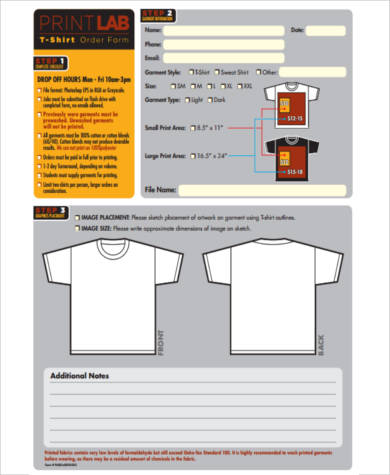 Sample Custom Order Forms - 7+ Free Documents In Pdf