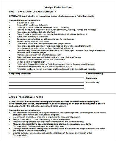 Sample Leadership Evaluation Forms   Free Documents In Word Pdf