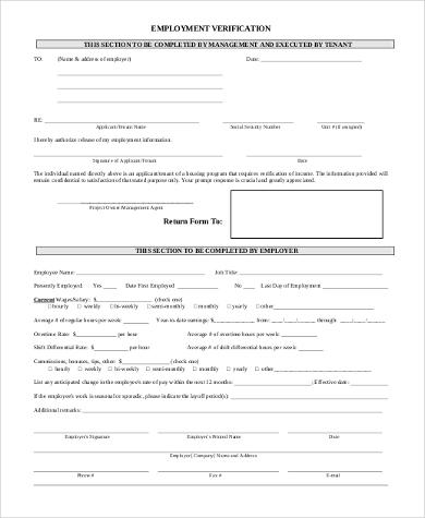 employee address verification form1