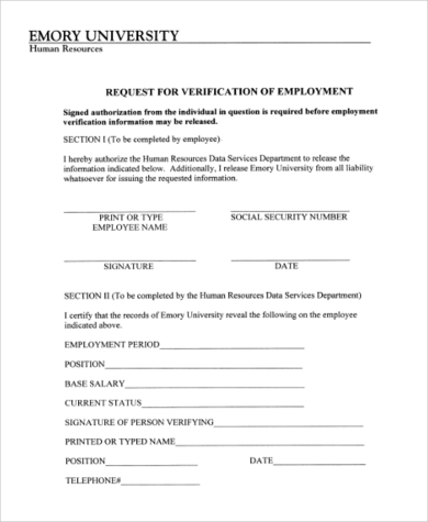 Employment Authorization Form Sample - 7+ Free Documents In Word, Pdf