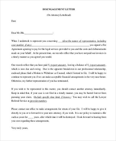 Example Attorney Letterhead