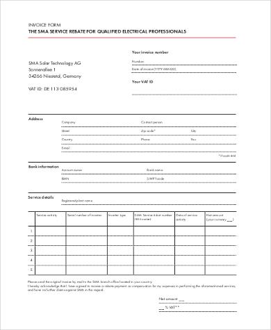 free invoice form pdf1